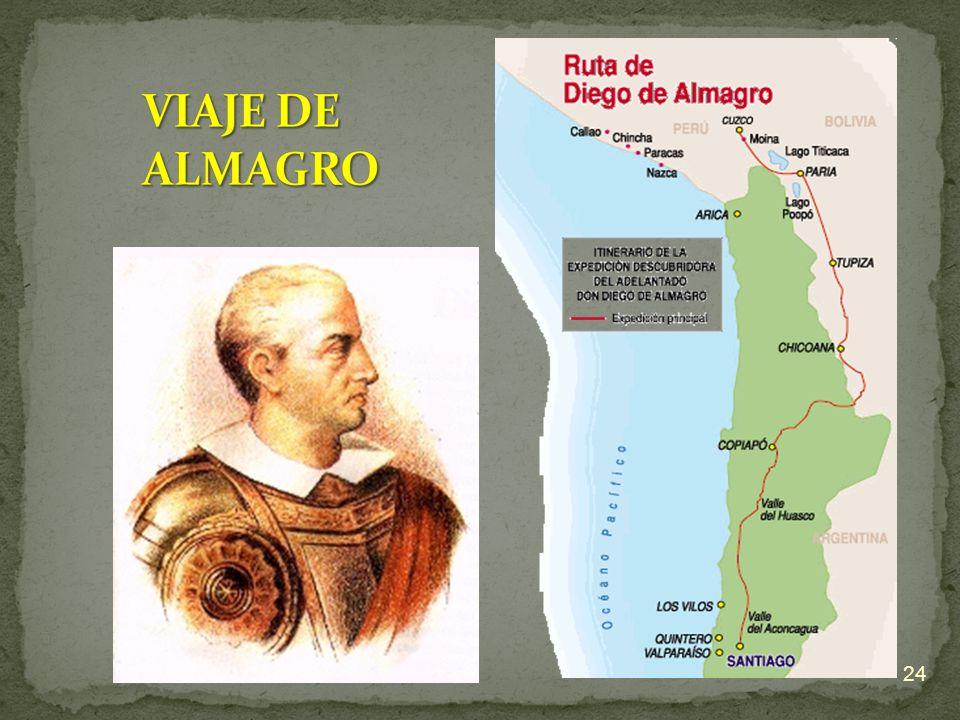 VIAJE DE ALMAGRO