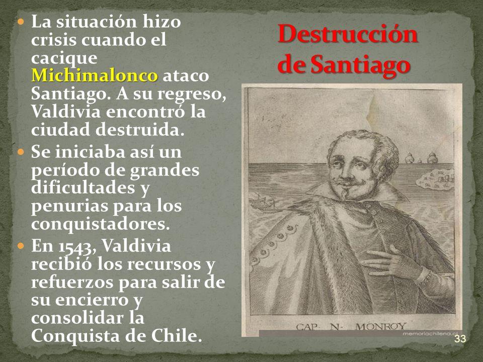 Destrucción de Santiago