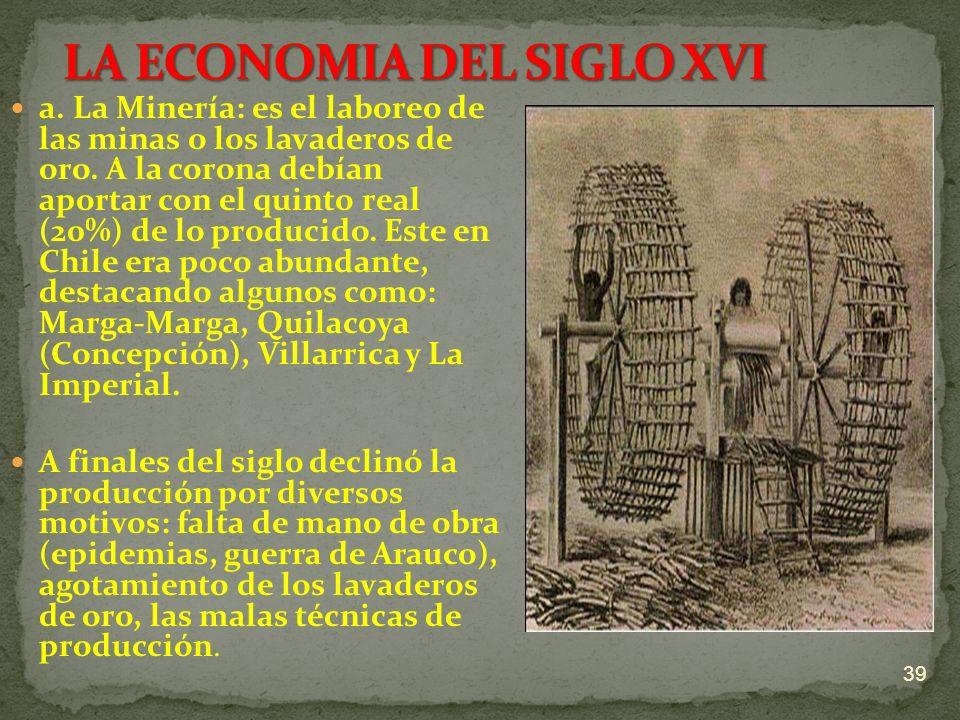 LA ECONOMIA DEL SIGLO XVI