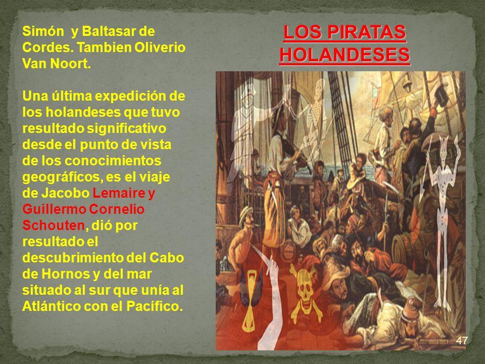 LOS PIRATAS HOLANDESES