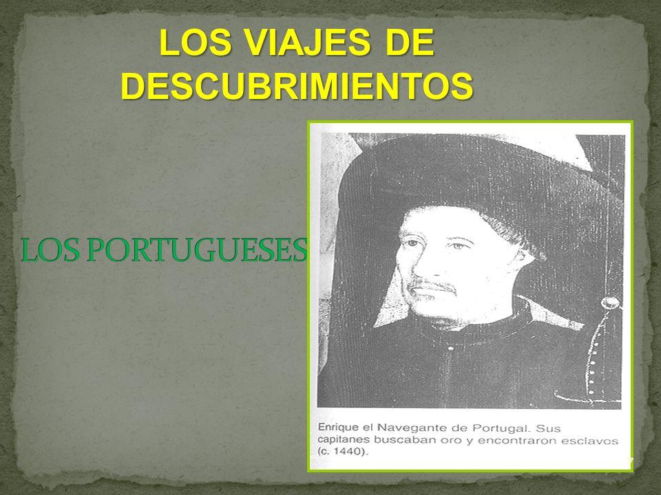 LOS VIAJES DE DESCUBRIMIENTOS