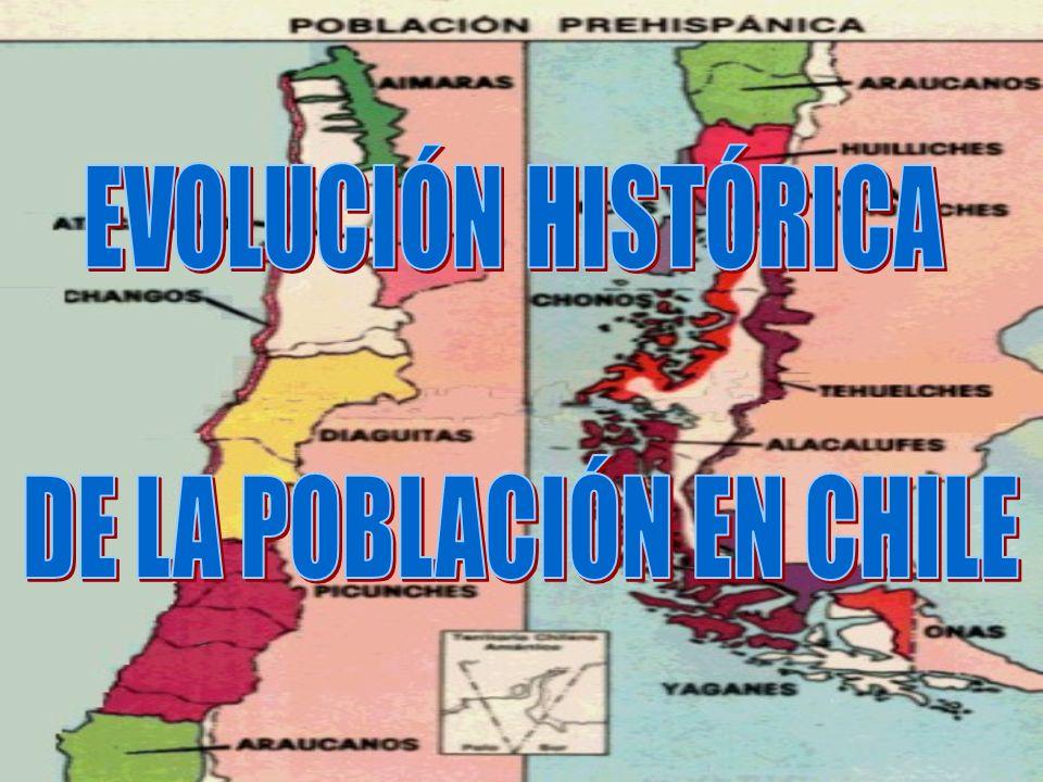 DE LA POBLACIÓN EN CHILE