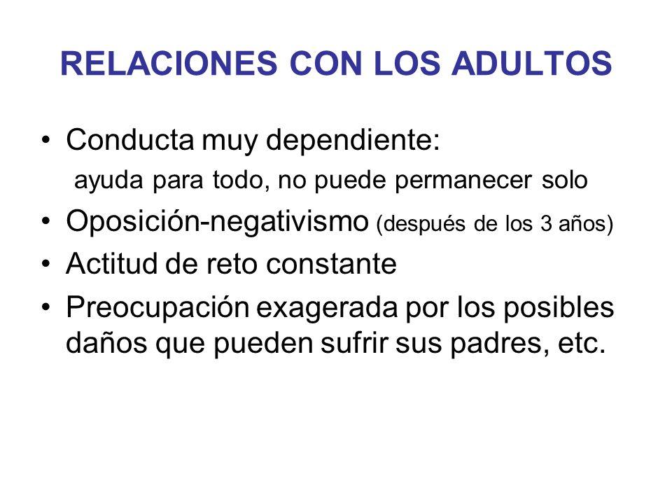 RELACIONES CON LOS ADULTOS