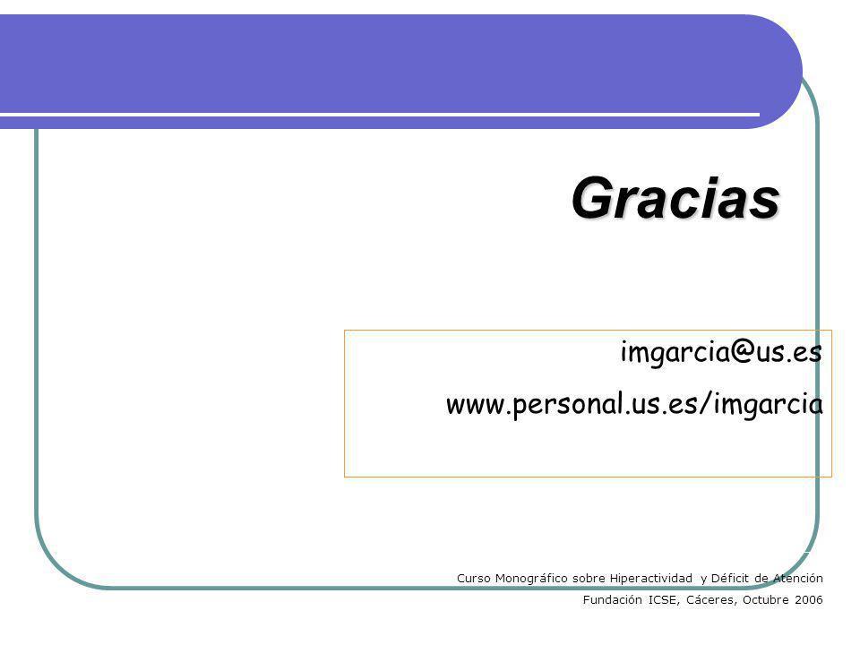 Gracias imgarcia@us.es www.personal.us.es/imgarcia
