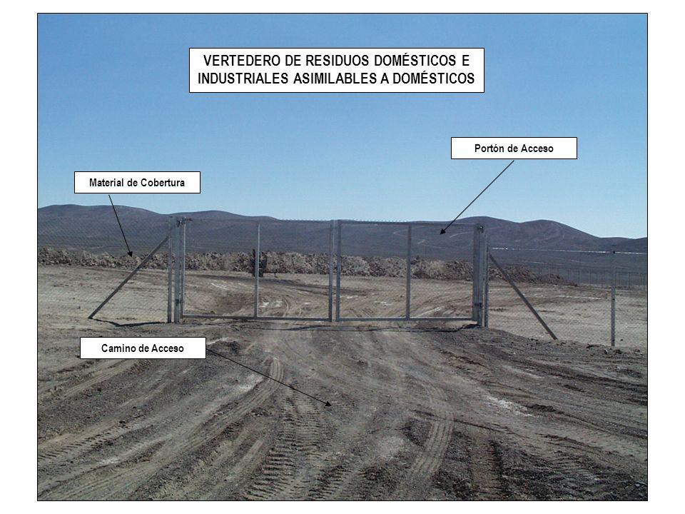 VERTEDERO DE RESIDUOS DOMÉSTICOS E