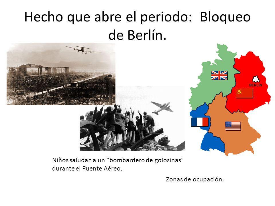 Hecho que abre el periodo: Bloqueo de Berlín.
