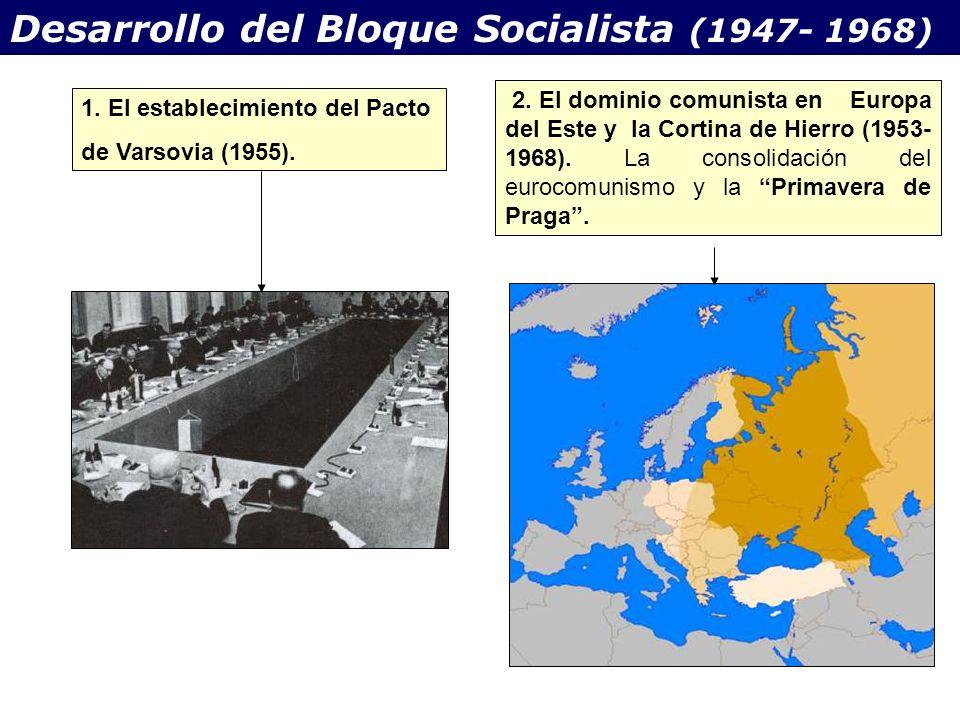 Desarrollo del Bloque Socialista (1947- 1968)