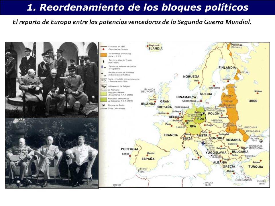 1. Reordenamiento de los bloques políticos