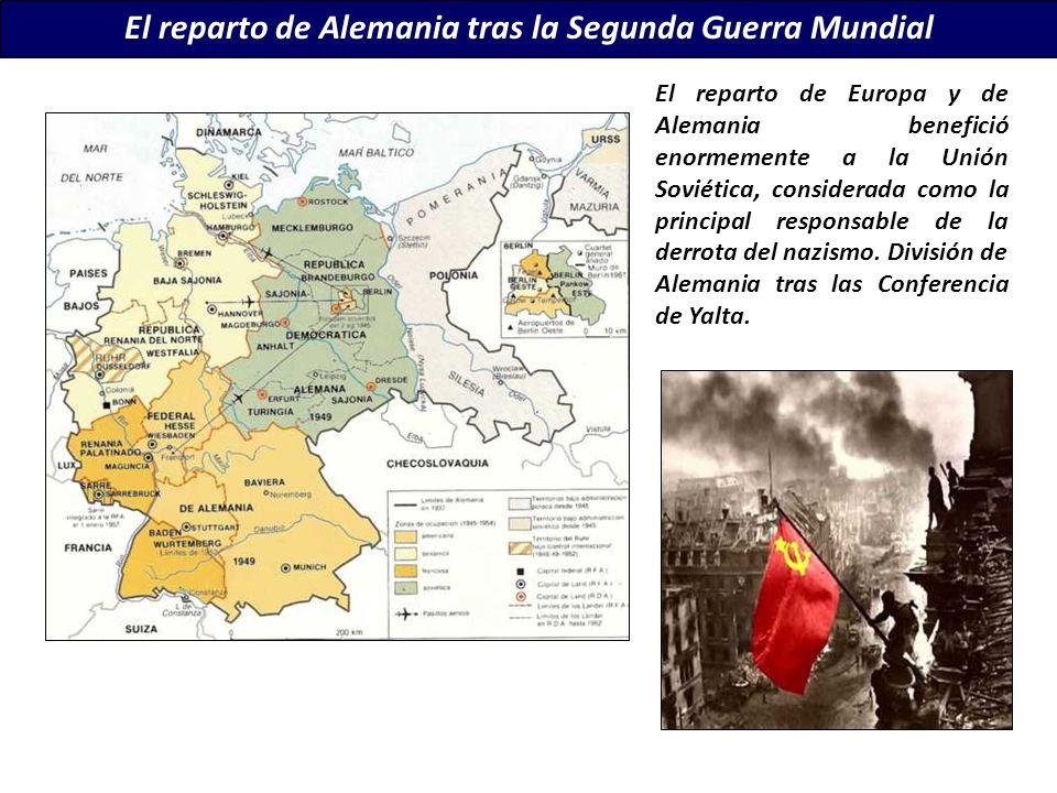 El reparto de Alemania tras la Segunda Guerra Mundial