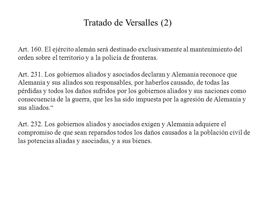 Tratado de Versalles (2)
