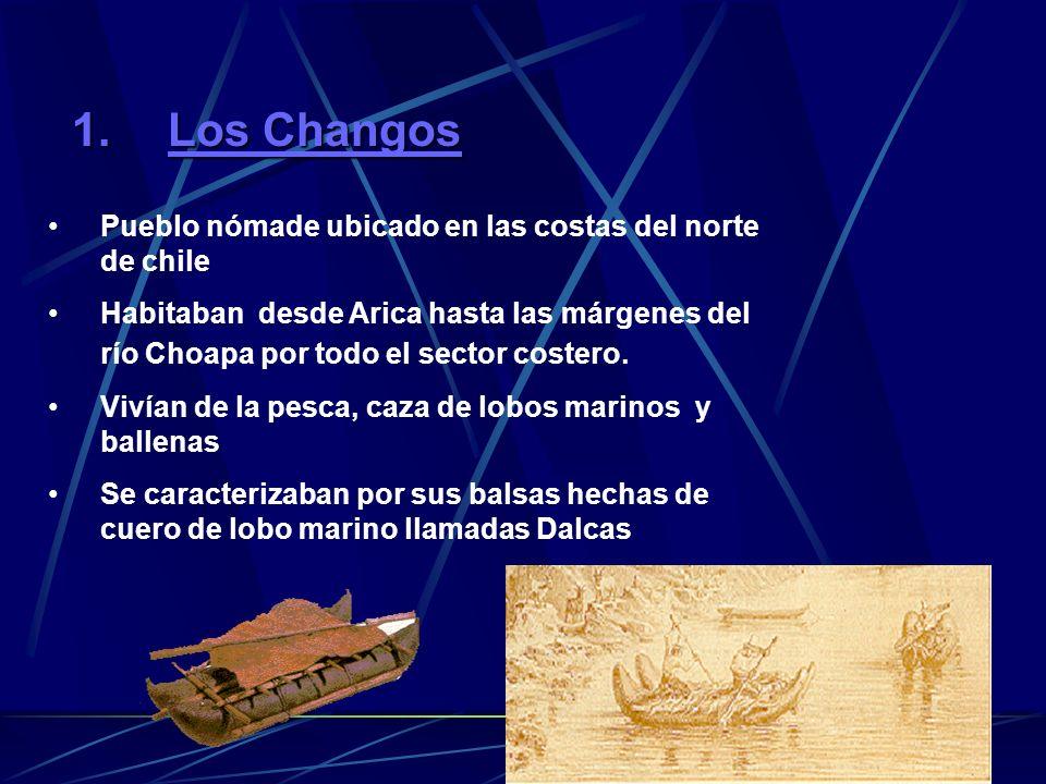 Los Changos Pueblo nómade ubicado en las costas del norte de chile