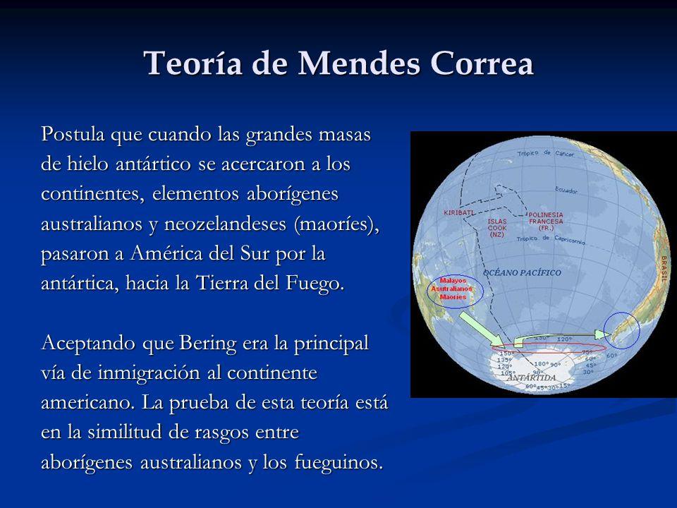Teoría de Mendes Correa