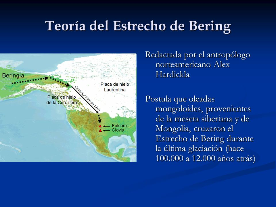 Teoría del Estrecho de Bering