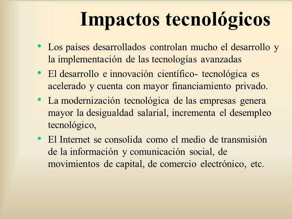 Impactos tecnológicos