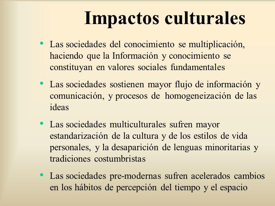 Impactos culturales
