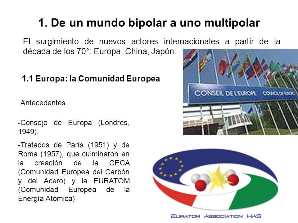 1. De un mundo bipolar a uno multipolar