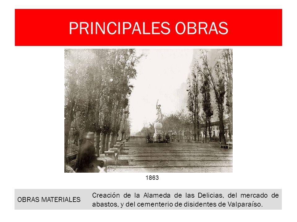 PRINCIPALES OBRAS OBRAS MATERIALES