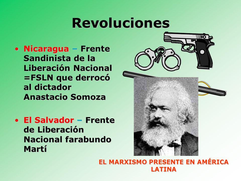 EL MARXISMO PRESENTE EN AMÉRICA LATINA
