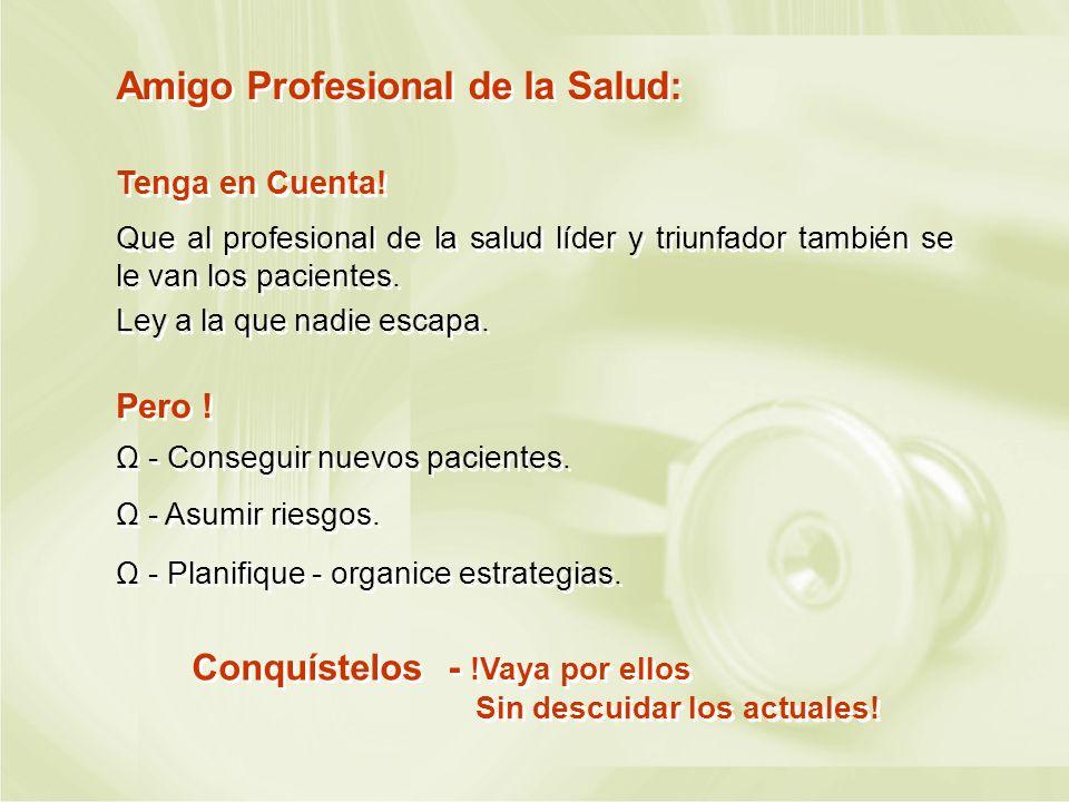 Amigo Profesional de la Salud: