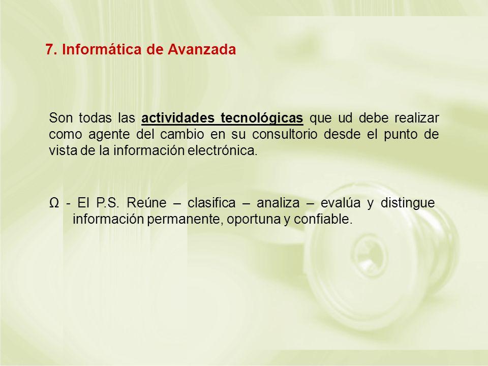 7. Informática de Avanzada