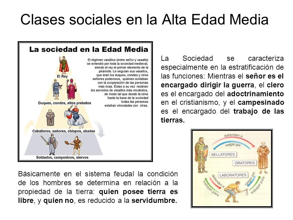 Clases sociales en la Alta Edad Media