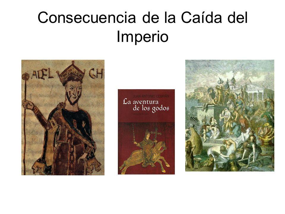 Consecuencia de la Caída del Imperio