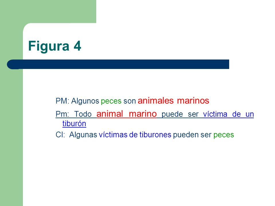 Figura 4 PM: Algunos peces son animales marinos