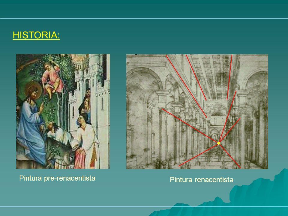 HISTORIA: Pintura renacentista Pintura pre-renacentista