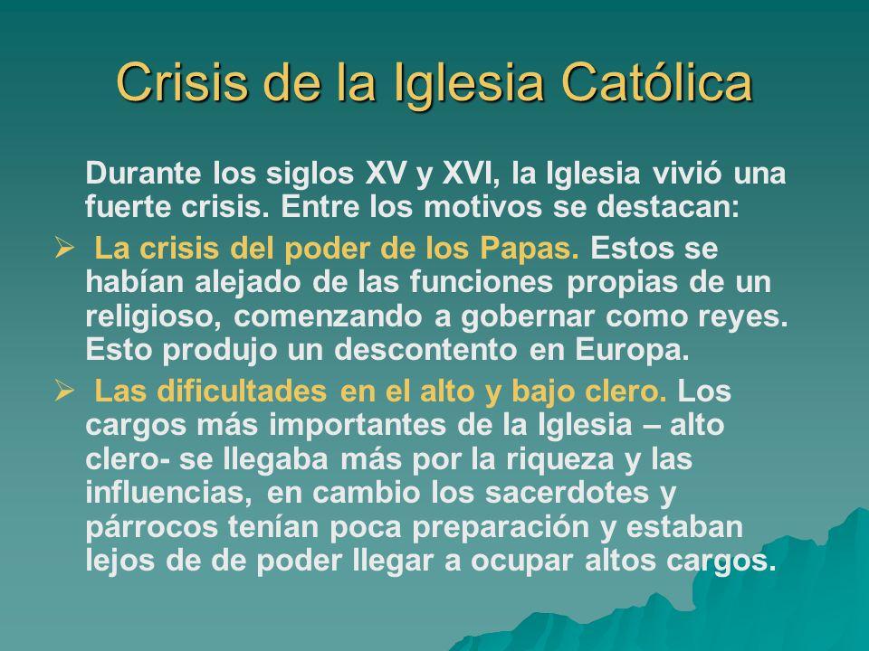 Crisis de la Iglesia Católica