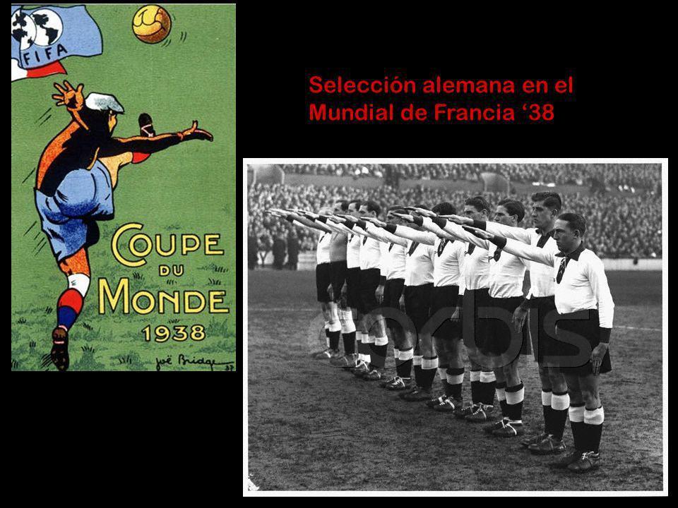 Selección alemana en el Mundial de Francia '38