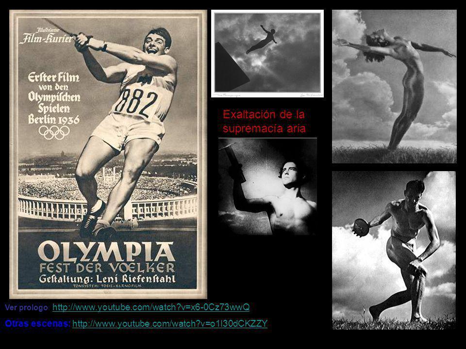 Exaltación de la supremacía aria