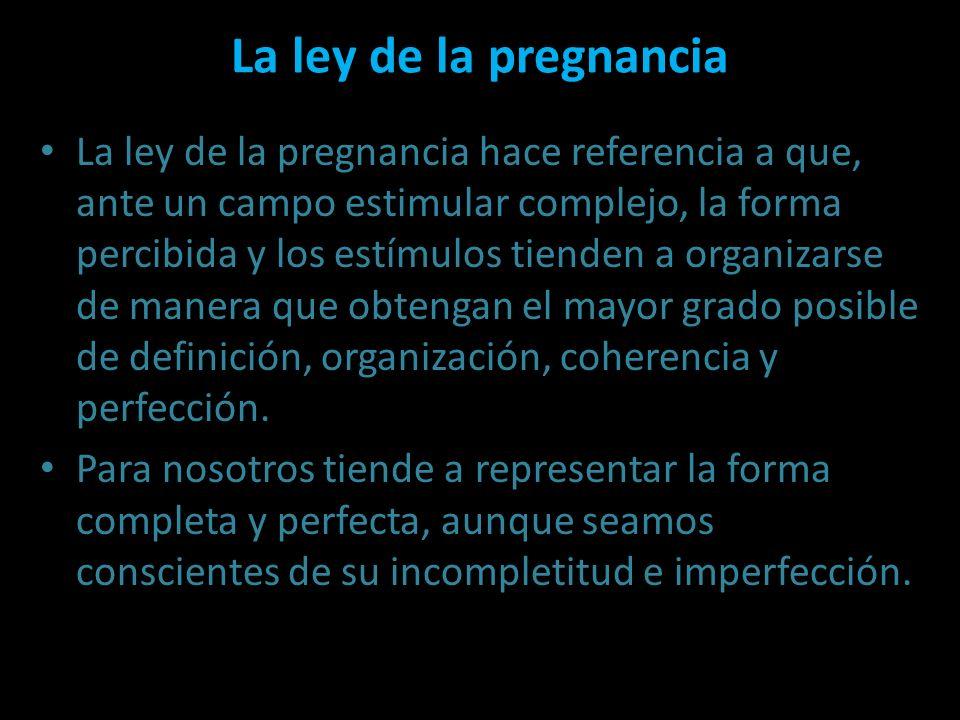 La ley de la pregnancia