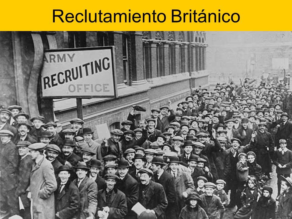 Reclutamiento Británico