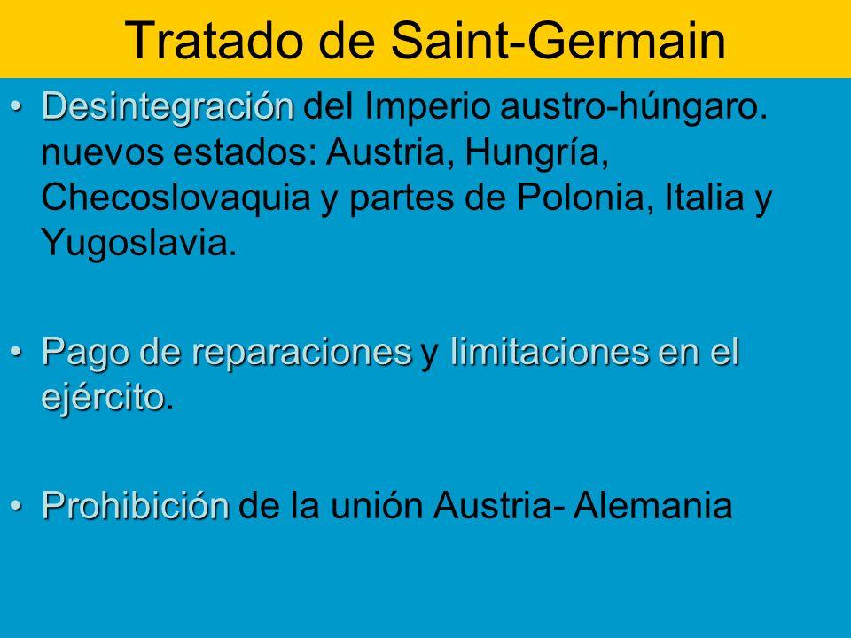 Tratado de Saint-Germain