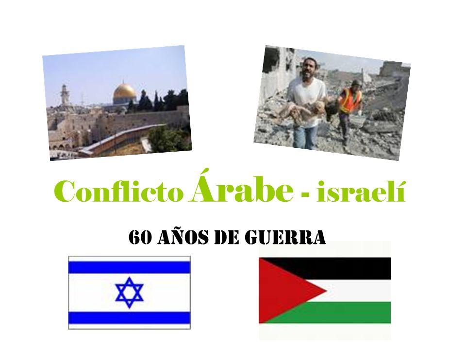 Conflicto Árabe - israelí