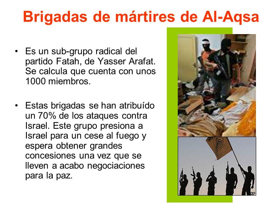 Brigadas de mártires de Al-Aqsa
