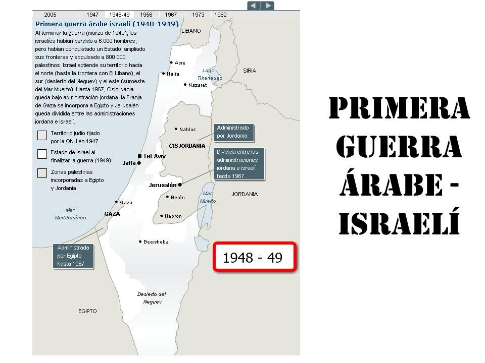 Primera guerra árabe - israelí