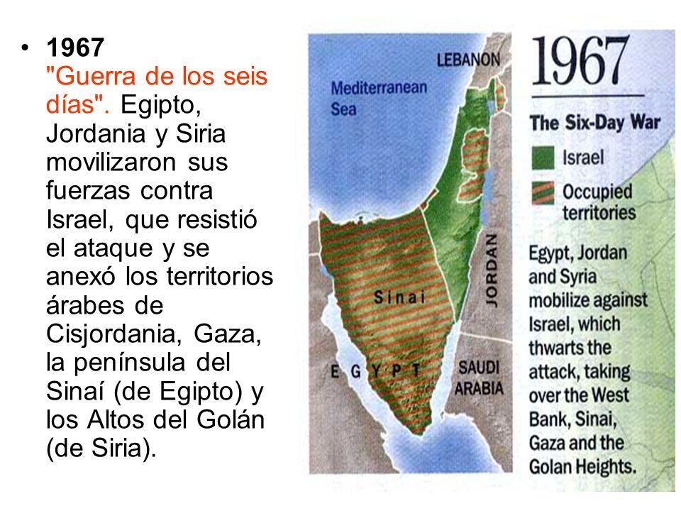 1967 Guerra de los seis días .