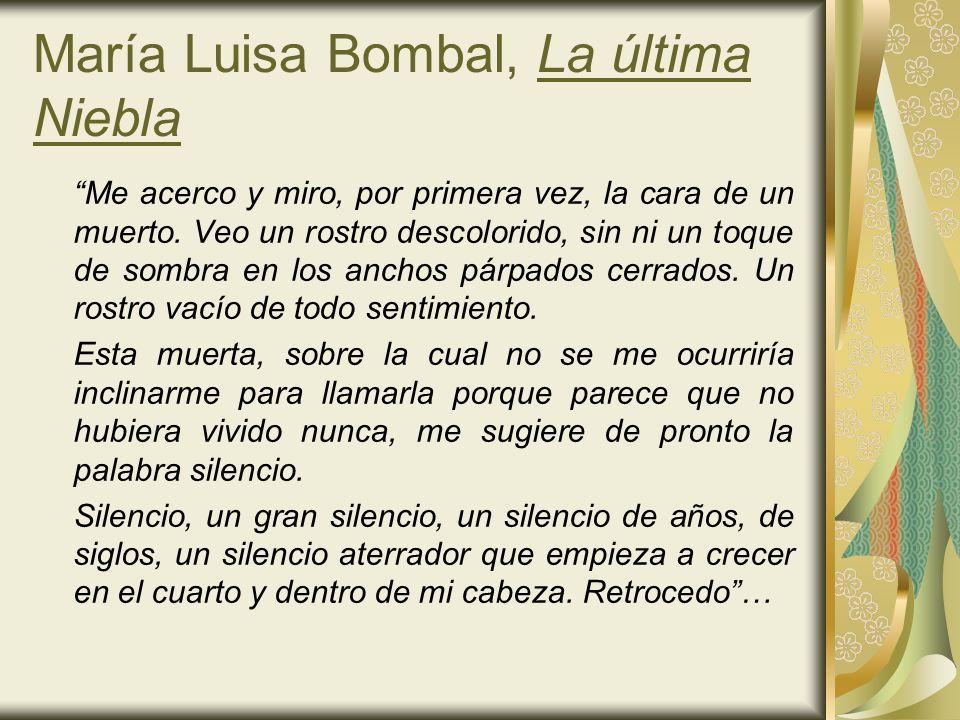 María Luisa Bombal, La última Niebla