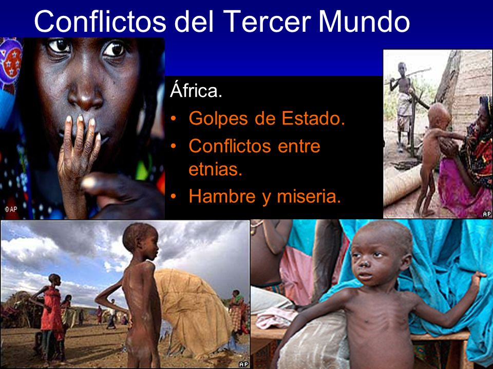 Conflictos del Tercer Mundo