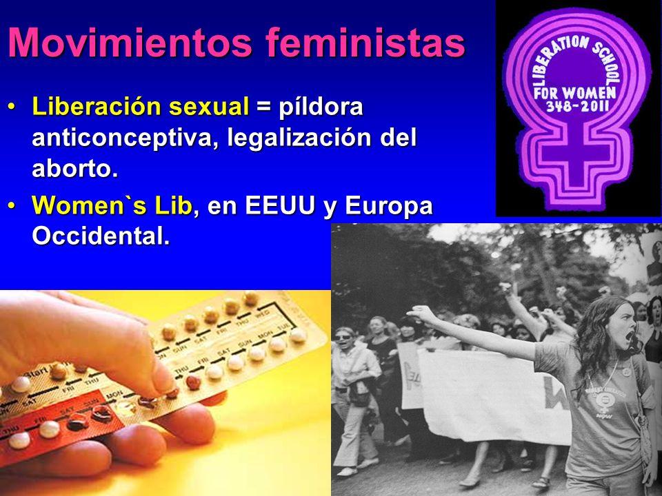 Movimientos feministas