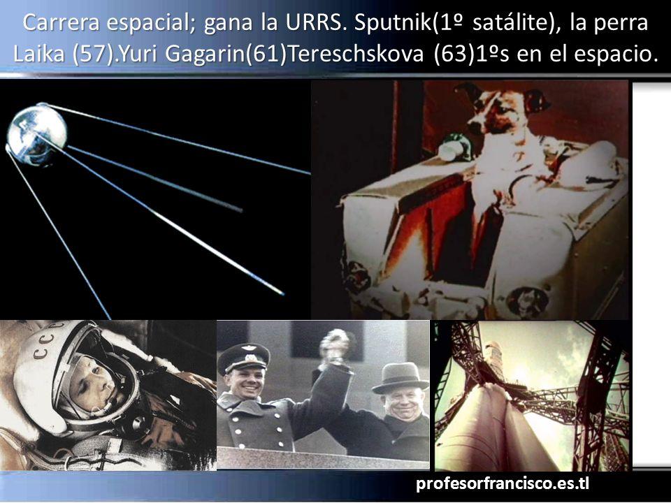 Carrera espacial; gana la URRS