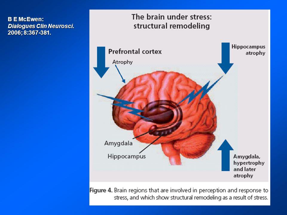 B E McEwen: Dialogues Clin Neurosci. 2006; 8:367-381.