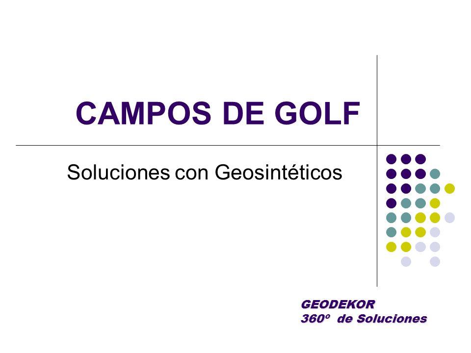 Soluciones con Geosintéticos