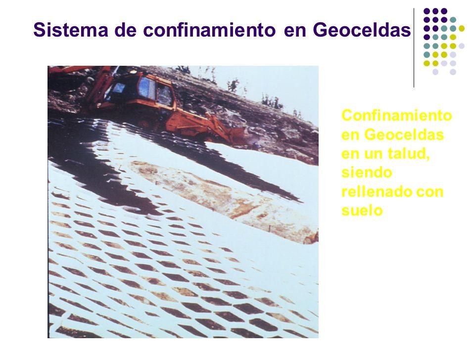Sistema de confinamiento en Geoceldas