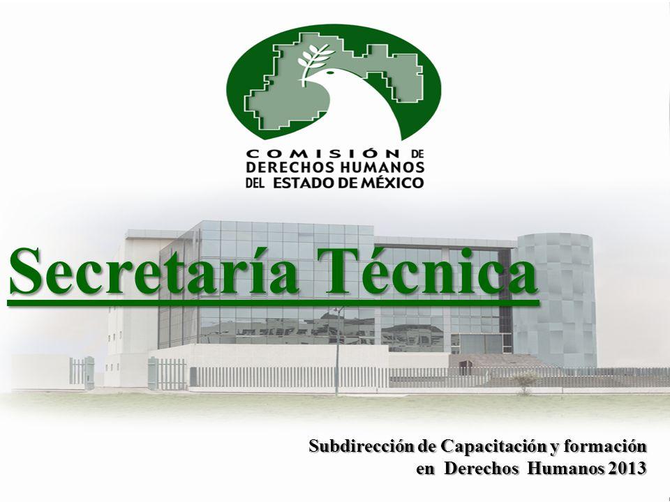 Secretaría Técnica Subdirección de Capacitación y formación