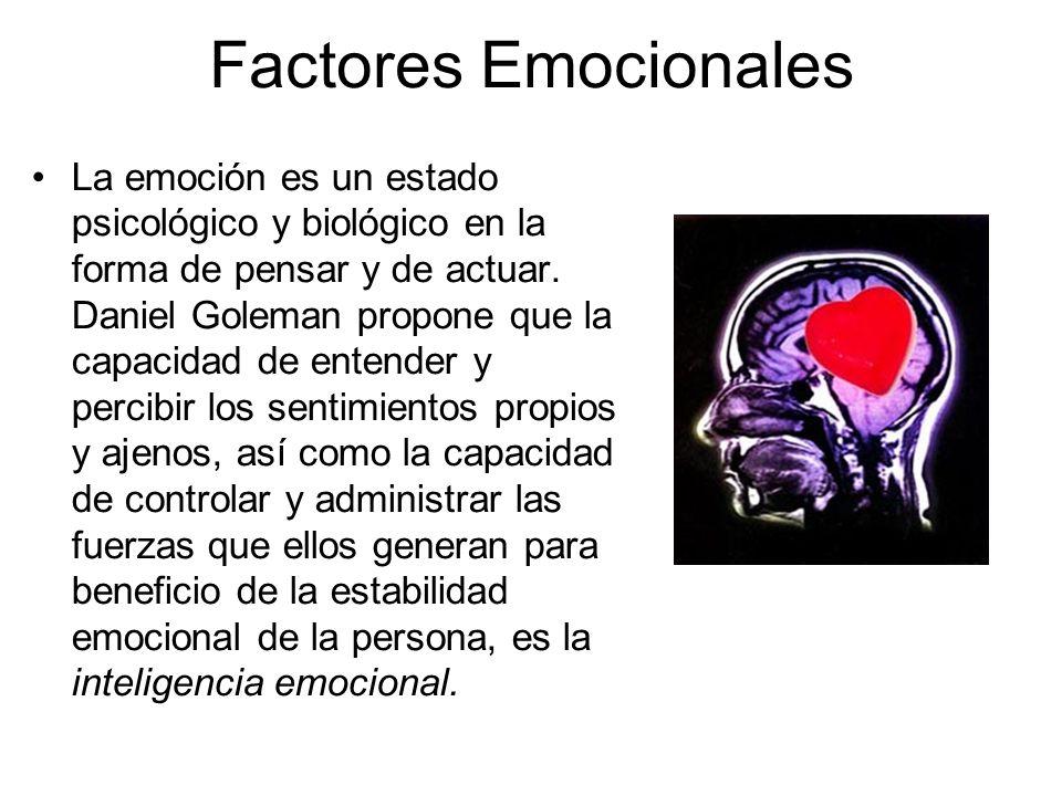Factores Emocionales