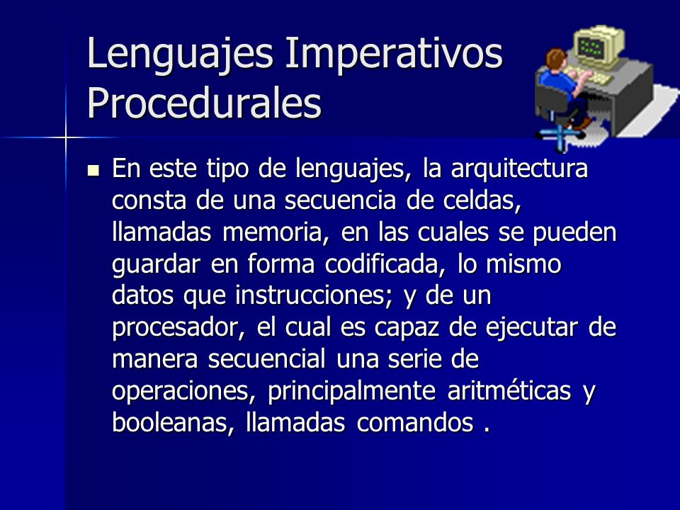 Lenguajes Imperativos Procedurales