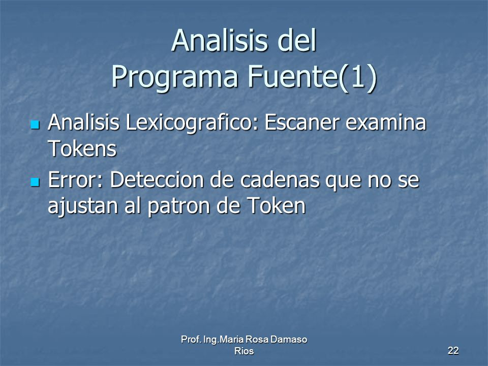 Analisis del Programa Fuente(1)
