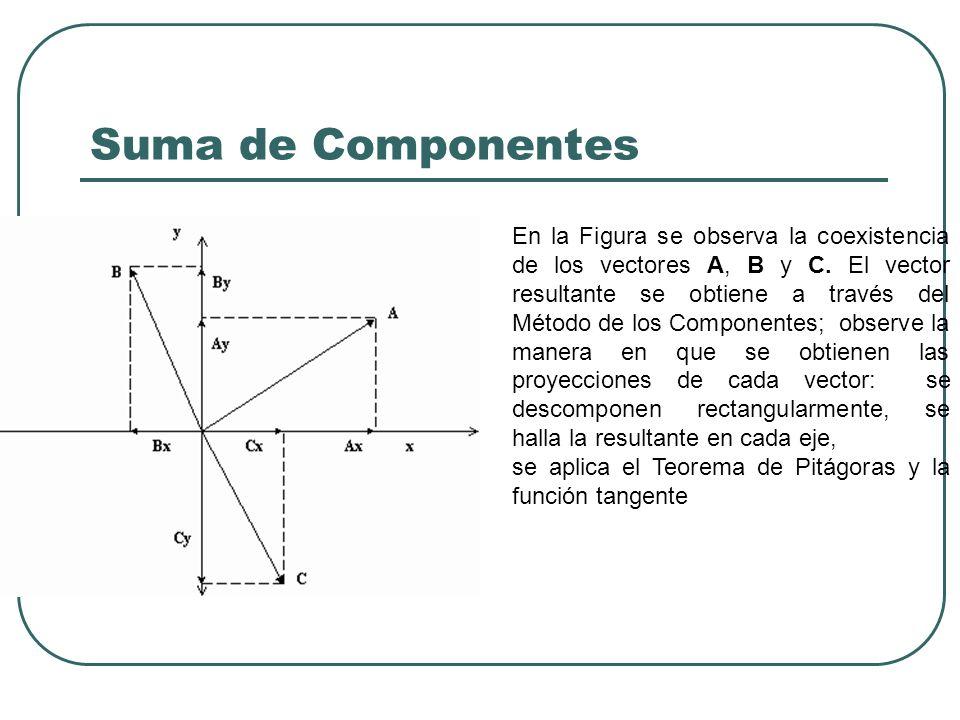Suma de Componentes